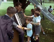 John F. Kennedy Jr. attends children's picnic at the White House New 8x10 Photo
