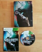 Call of Duty Black Ops with Steel Case and Manual for Microsoft Xbox 360 VGC