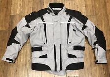 Tourmaster Transition Series 2 Men's Motorcycle Jacket Silver - SIZE XL / 46