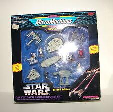 Star Wars Micro Machines Galaxy Collectors set 2nd Ed.  MISB box set HTF   115