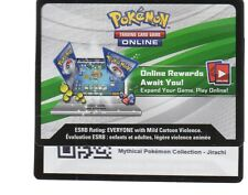 1x Pokemon Unused Code Card ONLINE REWARDS MYTHICAL COLLECTION JIRACHI C50