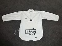 Adidas Korea Taekwondo Elite Cergy White Shirt Top Size 5 190cm