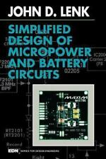 Simplified Design of Micropower and Battery Circuits (EDN Series for Design Engi