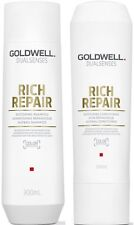 GOLDWELL DUALSENSES RICH REPAIR SHAMPOO 300 ML AND CONDITIONER 300 ML