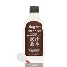 Kuro Sumi Tattoo Ink, Outlining, 6 Ounce