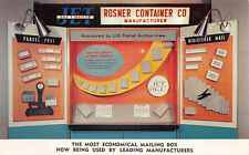 New York NY Rosner Container Co. Mailing Box Postcard