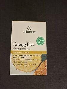 Arbonne EnergyFizz Ginseng Fizz Sticks - Pineapple Flavor