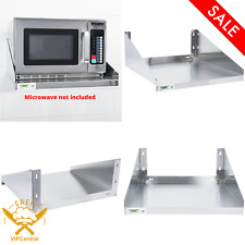 24 X 24 Stainless Steel Commercial Restaurant Wall Mount Microwave Shelf Nsf