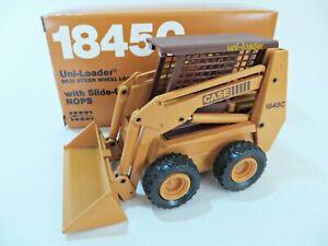 CONRAD 5401 'CASE 1845C UNI-LOADER SKID STEER WHEEL LOADER & ROPS. 1:35. BOXED