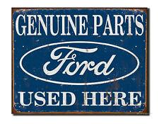 Ford Parts Schild 30 x 40 cm Poster Deko Werkstatt Vintage Auto Garage *289