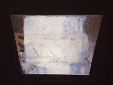 "Antoni Tapies ""White W/ Graphism"" Spanish Art 35mm Glass Slide"