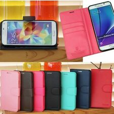 Sebi Wallet Case for Samsung Galaxy Note8 Note5 Note Edge Note4 Note3 Note2
