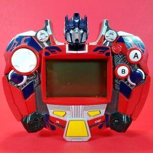 Optimus Prime Transformer Retro LCD Electronic Hand-Held Video Game  Hasbro 2007