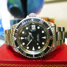 TUDOR ROLEX Submariner Stainless Steel Ref: 79090 Watch Circa 1992 Ghost Bezel
