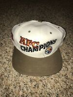 Vintage Pittsburgh Steelers AJD Snapback Cap Hat Deadstock 90's AFC Champions