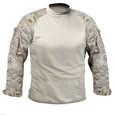 combat shirt desert digital camo tactical style, size Large, rothco 90020