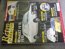 µ? Revue Retro Passion n°109 R12 TL Isetta vs Smart Camion sur etiquette Vin