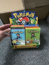 *EMPTY* Base 2 Pokemon Display Boxes Box Theme Decks Art Set Artwork NO CARDS