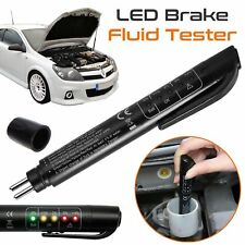 5 LED indicator Car Brake Fluid Oil Tester Auto Testing Tool Detection Pen Black