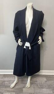 "Vintage Pendleton Unisex 100% Virgin Wool RARE RED Bath Robe Size L 50"""