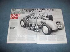 2016 History Info Article on the Bustle Bomb Twin-Engine Drag Car