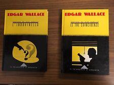 LC825_EDGAR WALLACE_L'INDOVINELLO_LE TRE COINCIDENZE_IL TRIANGOLO D'ARGENTO_1986