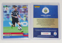 """LIONEL MESSI ARGENTINA """"CLASS OF THE CUP"""" 2018 WORLD CUP PANINI INSTANT CARD #1"""