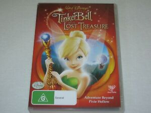 Tinker Bell And The Lost Treasure - Disney - VGC - Region 4 - DVD