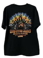 One Eyed Jacks Saloon Sturgis SD Biker T-Shirt Black Vintage Shirt 2010 Large