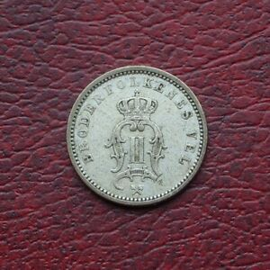 Norway 1901 silver 10 ore