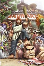 AKUMA  Street Fighter Shopkeeper  - Poster 30 in x 20 in - Fast Shipping