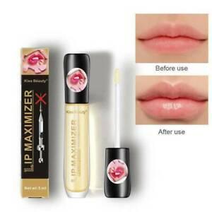 US Lip Plumper Extreme Lip Gloss Maximizer Plump Volume Bigger Lips Moisturizing