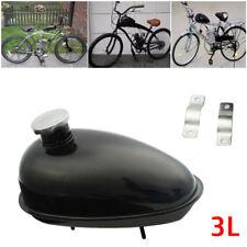 Motorized Bicycle Petcock 3L Fuel Gas Tank Cap Fits 80cc 60cc 66cc & 49cc Engine