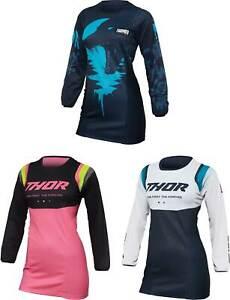 Thor Women's Pulse Jersey - MX Motocross Dirt Bike Off-Road ATV MTB Gear