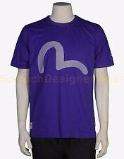EVISU t-shirt XL blauw NIEUW+LABELS np:€90