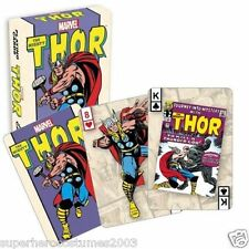 Avengers The Mighty Thor Playing Cards 52 Card Deck Marvel Comics Brand New