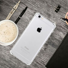 ShockProof Soft Phone Cover TPU Silicone Clear Bumper Case For Apple iPhone 6S
