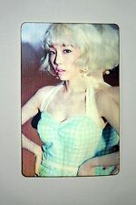 SNSD Girls'Generation YouThink TaeYeon Official Lenticular 3D Photo Sticker Card