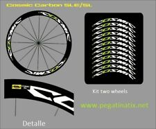 Stickers decals cycle wheels rims MAVIC COSMIC CARBON