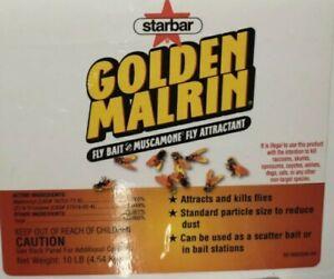 Original Golden Malrin Fly Bait Methomy *1/2 lb Repackaged DANGER Kills Raccoon
