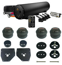 Complete Accuair ENDO-CVT E-level Air Ride Suspension Kit 63-72 C10 Black 5 gal