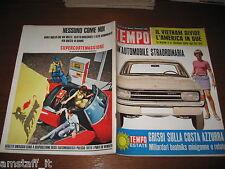 RIVISTA TEMPO 1966/36=EDMONDO FABBRI=GIULIO ANDREOTTI=RITA PAVONE=OPEL REKORD=