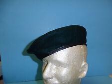b2604-57 RVN Vietnamese Marine & Special Forces  Dark Green Beret label Size 57