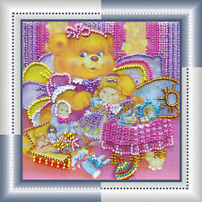Beadpoint DIY kit TEA Stitching Glass Seed Beads onto Artistic Canvas Tapestry