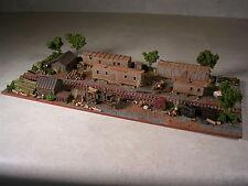 N Scale Custom Assembled Diorama Logging Camp Number 7, version #2