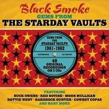 Black Smoke ~ Gems From The Starday Vaults NEW 2CD Vintage Country  Western Hits