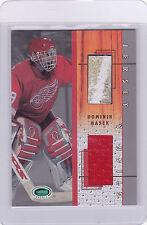2003/04 Dominik Hasek Parkhurst Jersey & Stick Card  Ltd /80   BV $60