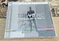 SIGNED TobyMac This Is Not A Test Deluxe Edition CD DC Talk Autographed