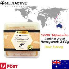 MediActive 100% Tasmanian Leatherwood Honeycomb 350g (Raw Honey) Energy