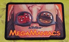 ~ Atari 5200 Video Game Vintage 80's Activision Patch - Megamania Megamaniacs ~